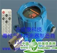 工业级固定式现场有显示模拟信号输出在线式一次仪表红外线甲烷/丙烷气体报警器