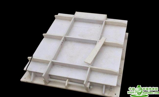 水利厂家专业生产玻璃钢拍门复合材料拍门DN800