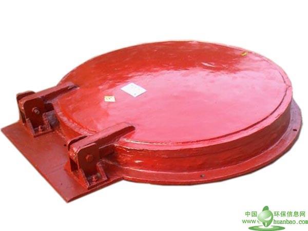DN600玻璃钢拍门 厂家直供污水处理成套设备 拍门价格