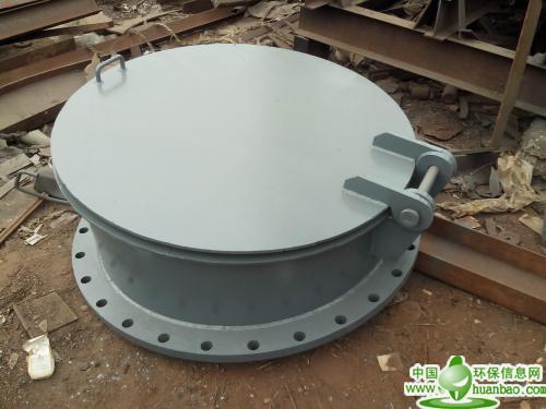 热销钢制拍门法兰连接拍门浮箱式不锈钢拍门
