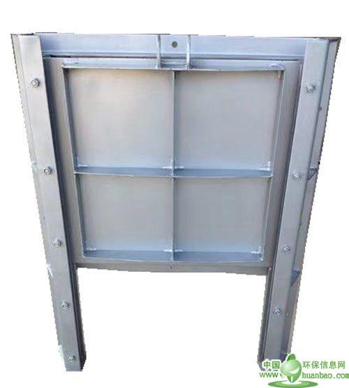华英不锈钢调节堰门出水下开式闸门下开式调节堰门
