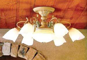 灯具的造型与色彩要与家具摆设相协调