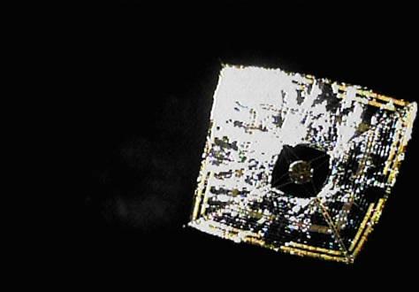 太阳能飞船首次现身 迈向未来航天第一步
