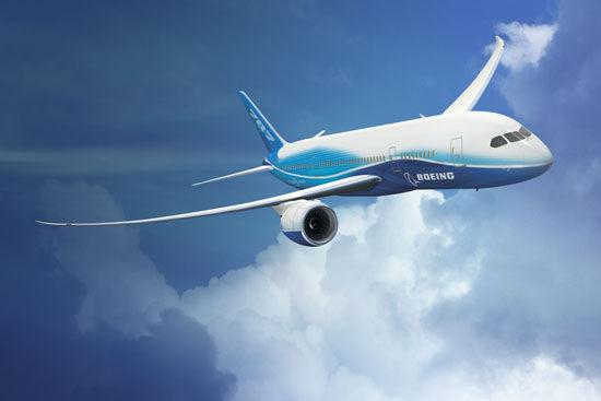 全球最环保最低耗油波音787梦想飞机今首航