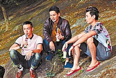 陈浩南/新《古惑仔》主演被吐槽。