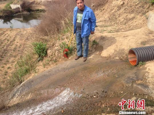 河北内丘环保局回应化工厂暗渠排污 污水排放达标