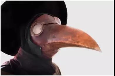 为防止瘴气入侵而设计的面具